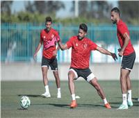 دوري أبطال إفريقيا  تدريبات بدنية قوية في مران الأهلي بتونس