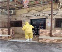 حملة تطهير الشوارع والمنشآت في العمرانية بالجيزة