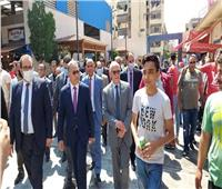 أعضاء «محلية النواب» يشيدونبالأسواق الحضارية ببورسعيد