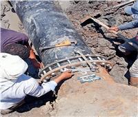 رئيس مياه القناة: نجحنا في إصلاح الأعطال المفاجئة في فترة زمنية وجيزة | صور