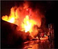 السيطرة على حريق نتيجة تسريب غاز داخل فرن بطريق «مصر- أسوان»