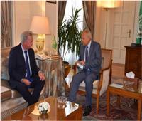 أبو الغيط يؤكد ضرورة تفعيل الدور الأوروبي في عملية السلام