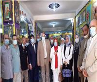 افتتاح معرض التوجيه العام للتربية الفنية بمحافظة المنوفية