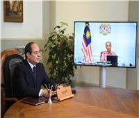 آفاق جديدة للتعاون.. السيسي يتلقى اتصالا من رئيس وزراء ماليزيا   فيديو