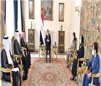 الرئيس السيسي: دعم كامل لتعزيز التجارة والاستثمارات بين مصر والسعودية   فيديو