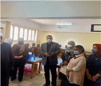 صحة المنوفية:بدء تطعيم المراقبين على امتحانات المعاهد الأزهرية بلقاح كورونا