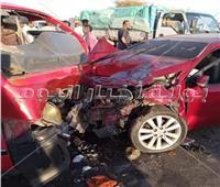 مصرع 4 أشخاص وإصابة 23 في حادث تصادم بالمنيا