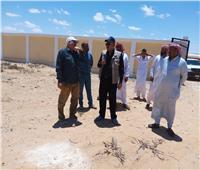 مستشار وزير الزراعة يتفقد أنشطة مشروعات «برايد» بقرى مطروح