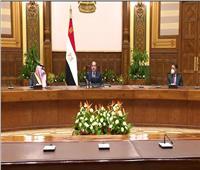 الرئيس: لو قُدر لمصر الوقوع تحت وطأة التطرف لـ تداعت باقي دول المنطقة
