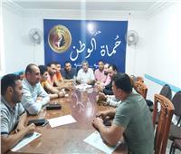 اجتماع أمانة شباب حزب حماة الوطن بالدقهلية لمناقشة خطة المرحلة المقبلة