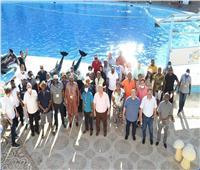 رؤساء المحاكم والمجالس الدستورية الأفريقية في جولة سياحية بشرم الشيخ