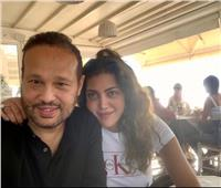 ريهام حجاج تنتظر طفلها الأول من محمد حلاوة