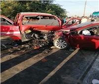 تشييع جثامين ضحايا حادث تصادم «مسيرة زفاف» في المنيا