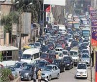 حالة الطرق| سيولة مرورية بالشوارع الرئيسية ووسط البلد