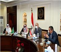 الجزار يلتقي وزير التجارة السعودي لبحث فرص التعاون المشترك