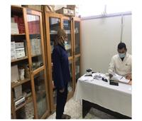 السجون توجه قوافل لتطعيم نزلاء برج العرب ضد الالتهاب الكبدي الوبائي ..صور
