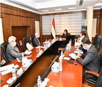 وزيرة التخطيط تلتقي الرئيس التنفيذي للمؤسسة الإسلامية لتأمين الاستثمار