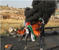 إصابة العشرات في مواجهات بين الفلسطينيين والإسرائيليين