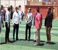 نائب محافظ سوهاج يتفقد مشروعات مبادرة «حياة كريمة» بقرية «الكولا»