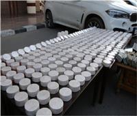 ضبط 40 إسطوانة لمخدر الهيروين بحوزة أحد العناصر الإجرامية بالإسكندرية