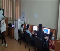 دورات تدريبية لرواد المركز الثقافى بطنطا