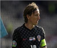 «يورو 2020»| «مودريتش» يفوز بجائزة رجل مباراة «كرواتيا والتشيك»