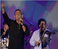 صور   عمرو دياب يتألق في حفل بأكبر قبة في العالم بمدينة جدة