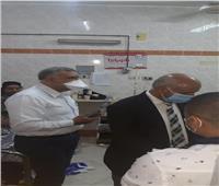 في زيارة مفاجئة.. وكيل وزارة الصحة بالغربية يتفقد مستشفى قطور المركزي