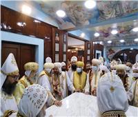 الأنبا ثاؤفيلس يدشن كنيسة مطرانية منفلوط
