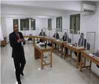 رئيس جامعة الأزهر يتفقد دورةالتخطيط الاستراتيجي لأعضاء هيئة التدريس