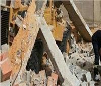 إصابة سيدتين سقط عليهما جدار منزل بقرية في دمنهور