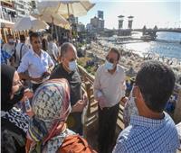 محافظ الإسكندرية يخصص كابينتين مجاناً بشاطئ ستانلي للجيش الأبيض