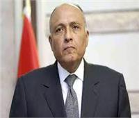 بث مباشر | مؤتمر صحفي لسامح شكري و نظيرته الليبية