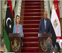 وزيرة خارجية ليبيا: نشيد بدور مصر لإنجاح الحوار في بلدنا وإنهاء الانقسام