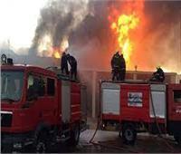 بعد السيطرة على حريق مصنع بلاستيك في أوسيم.. انتداب المعمل الجنائي