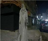 رئيس حي ثالث الإسماعيلية: إزالة تمثال مرعب بإحدى مناطق المدينة| فيديو
