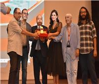 الفنانة بسمة: سعيدة بتكريمي في مهرجان الإسماعيلية السينمائي الدولي