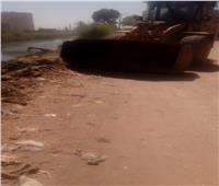 رفع 70 طن مخلفات في فرشوط