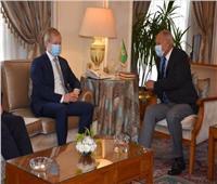 أبو الغيط يستقبل مبعوث الاتحاد الأوروبي للشرق الأوسط