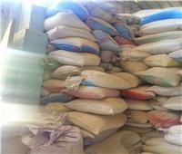 ضبط مصنع أعلاف بالدقهلية يستخدم مسحوق بودرة بلاط