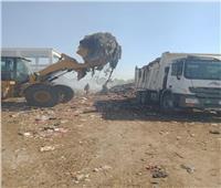 رفع 8 آلاف طن قمامة وإزالة 618 حالة إشغالات متنوعة بالفيوم