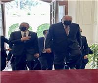 بدء المباحثات المصرية بين شكري ونظيره الماليزي لتعزيز التعاون المشترك