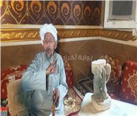 حكايات| عاشق النحت والحجر.. حلم «أبو الهول» جديد في صحراء سيناء