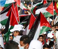حركة فتح تعلن تنظيم «مسيرة أعلام فلسطينية» في الضفة الغربية غدًا