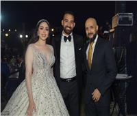 محمد إيهاب سلام يحتفل بزفاف شقيقه «سلام» على الدكتورة ياسمين عبد الله | صور