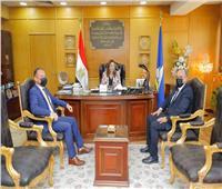 «محافظ دمياط» تستقبل رئيس هيئة الرقابة الإدارية الجديد بالمحافظة