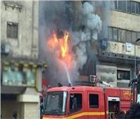 إصابة سيدة في حريق شقة سكنية بفيصل