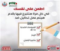 الصحة: إجراء 4 تحاليل للمتبرع بالدم حفاظًا على سلامة المريض