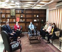 وفد شباب البرنامج الرئاسي يتلقون تدريبهم بـ«المنطقة الشرقية» في القاهرة