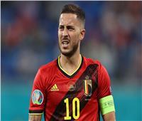 هازارد: فوز بلجيكا بأول لقب كبير لا يزال بعيد المنال